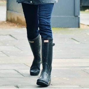 Hunter original Rain Boots in Black Matte